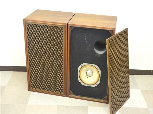 KM79●中古品●SANSUI サンスイ SP/LE8T スピーカー システム ペア オーディオ機器 音出しOK
