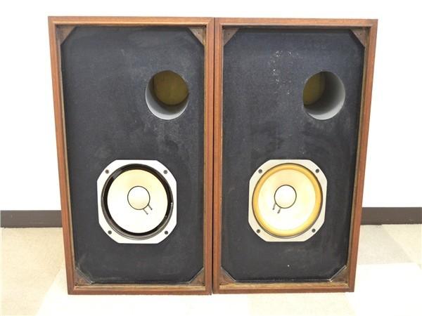 KM79●中古品●SANSUI サンスイ SP/LE8T スピーカー システム ペア オーディオ機器 音出しOK_画像2