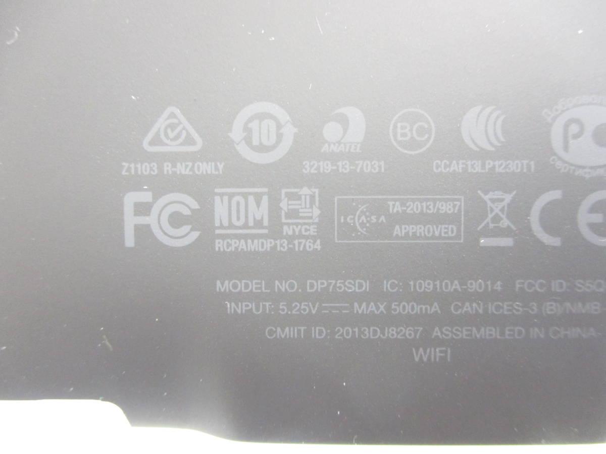 専用ケース付き amazon アマゾン Kindle Paperwhite DP75SDI Wi-Fi 32GB 6型 ブラック 電子書籍リーダー T009_画像5