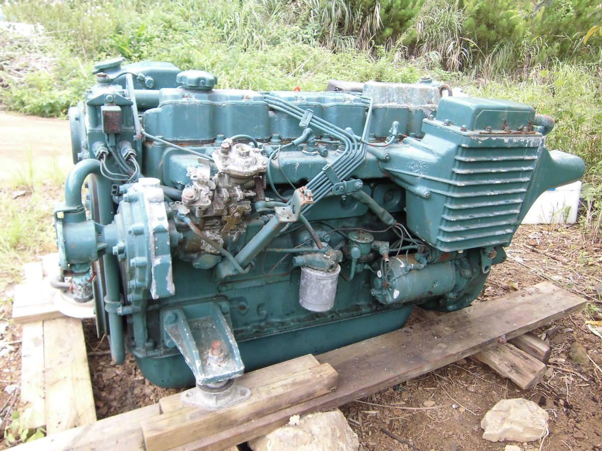 ボルボペンタ 稼働艇取り外しエンジン TAMD41AJ 200PS_画像2