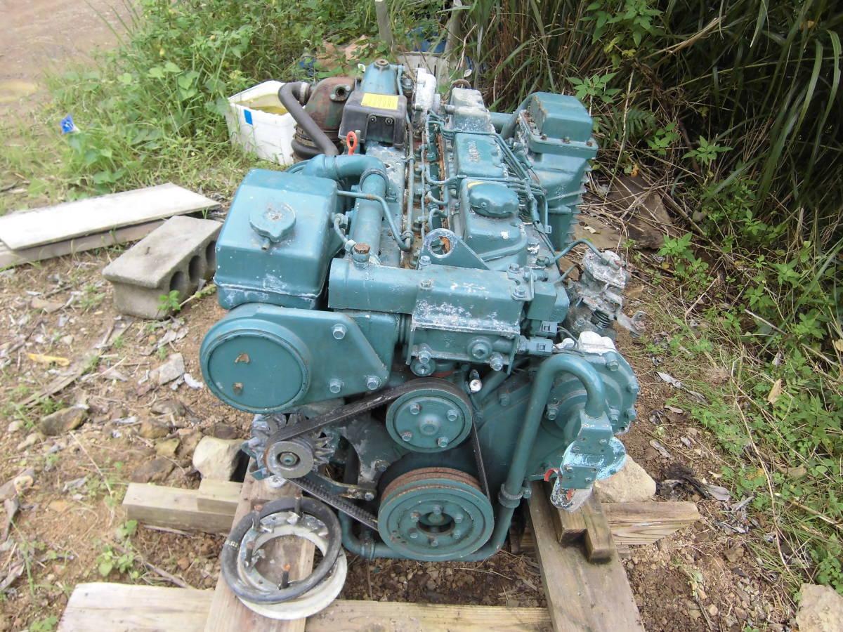 ボルボペンタ 稼働艇取り外しエンジン TAMD41AJ 200PS_画像3