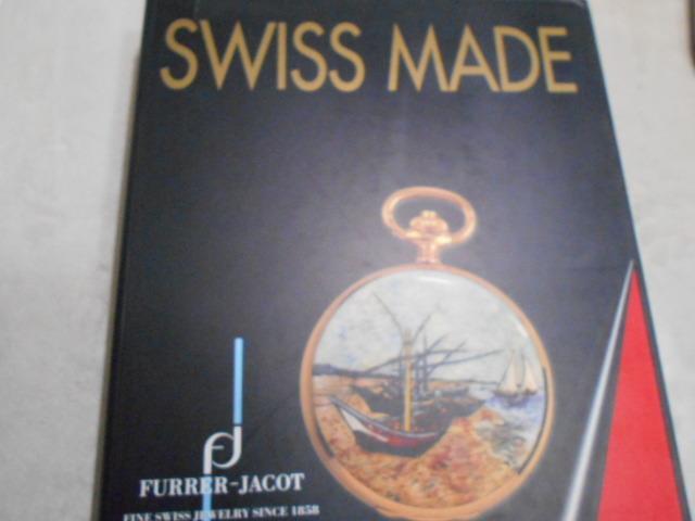 大判本【SWISS MADE FURRER-JACOT】フラージャコー 送料無料 スイス時計ウオッチ_画像1