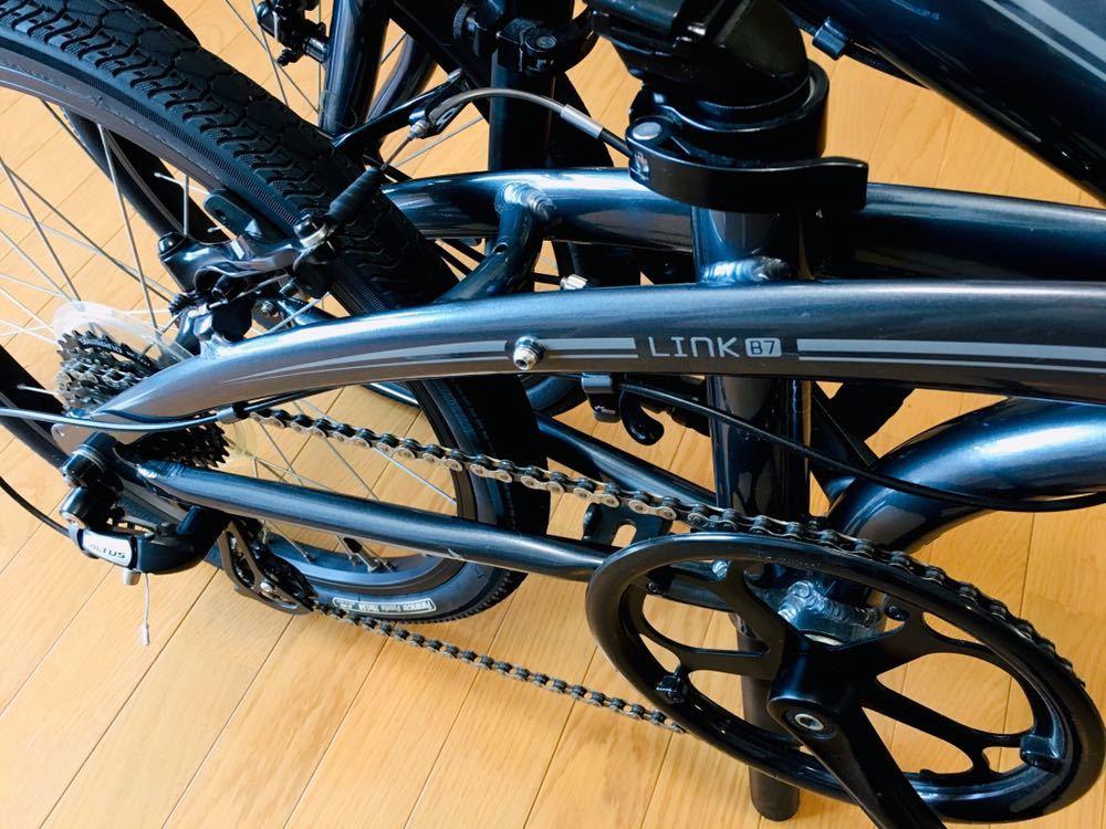 tern ターン リンク b7 カスタム自転車 折り畳み ブルホーン 美品 最終値下げ!_画像5