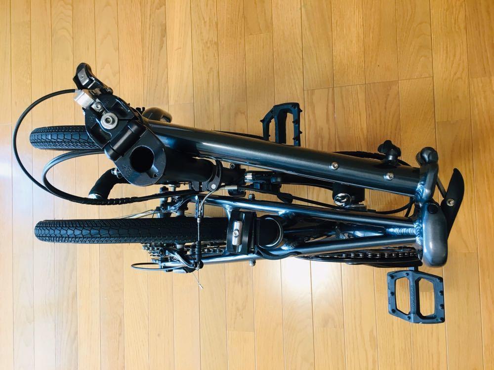 tern ターン リンク b7 カスタム自転車 折り畳み ブルホーン 美品 最終値下げ!_画像4