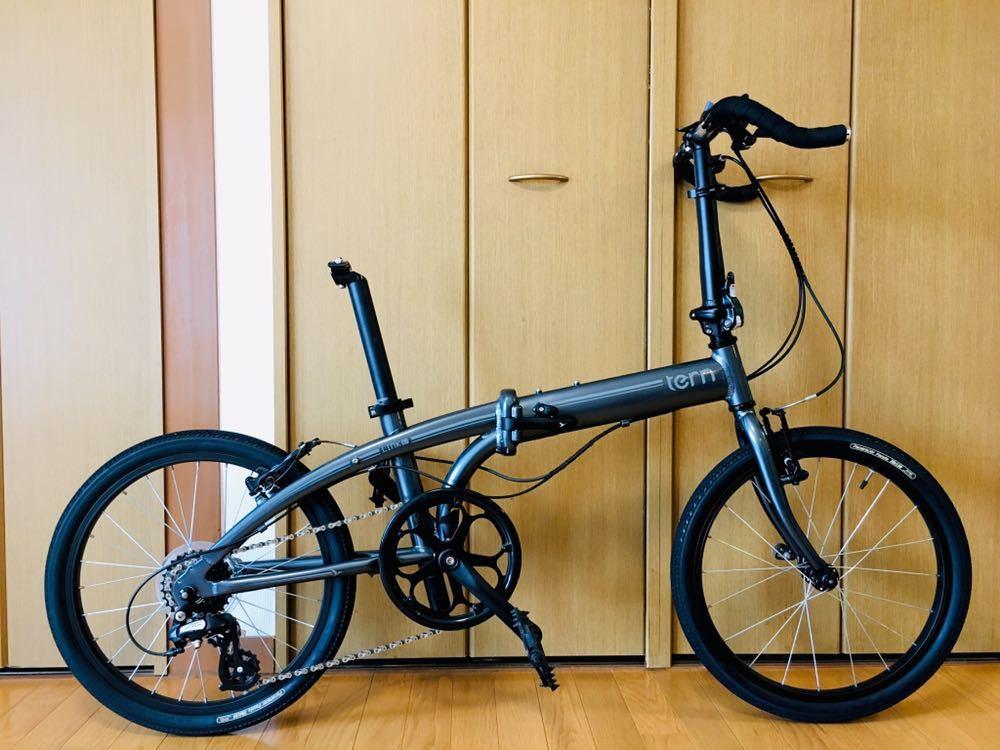 tern ターン リンク b7 カスタム自転車 折り畳み ブルホーン 美品 最終値下げ!_画像3