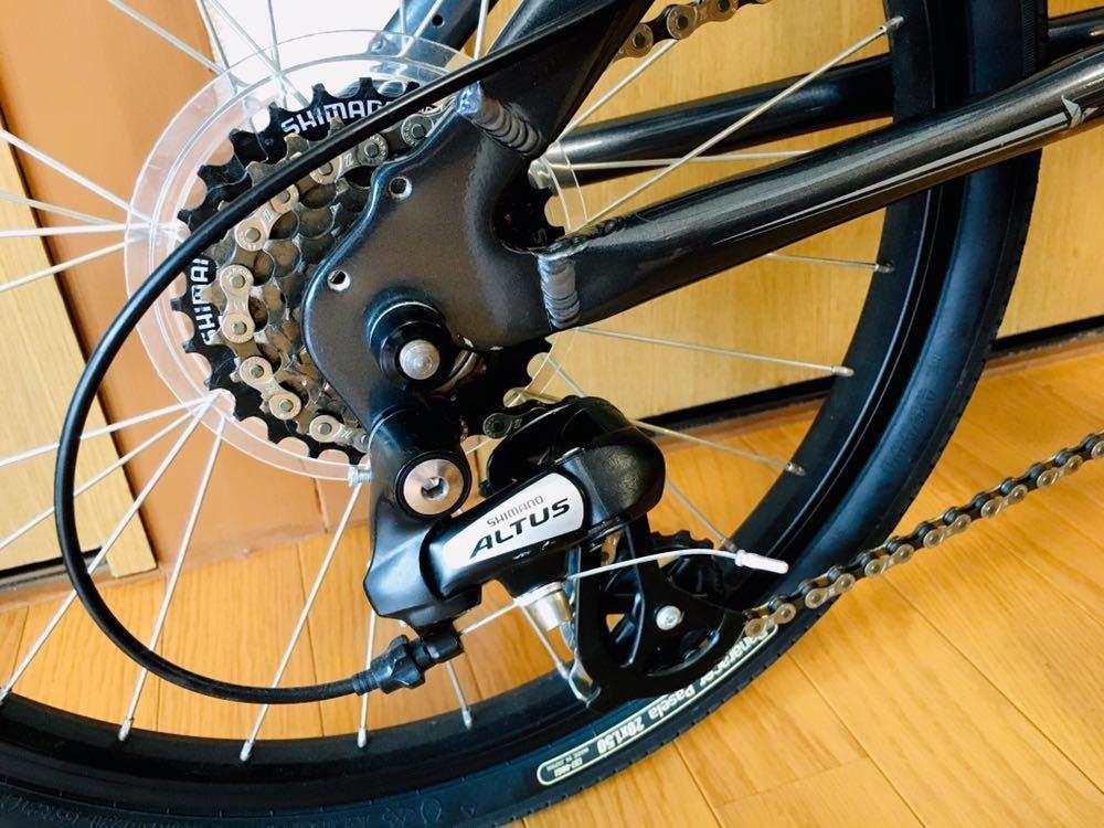 tern ターン リンク b7 カスタム自転車 折り畳み ブルホーン 美品 最終値下げ!_画像7