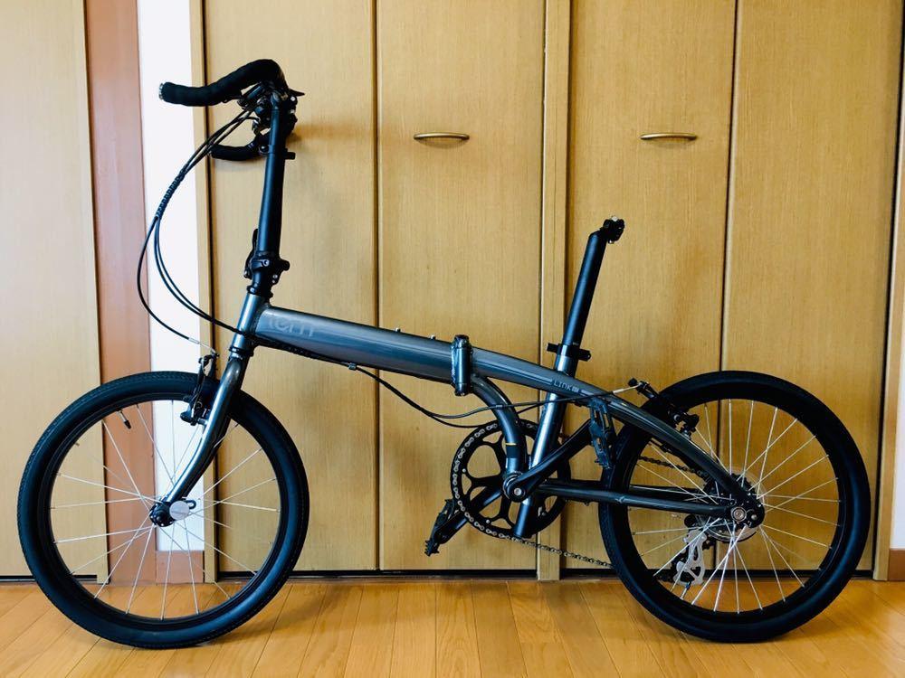 tern ターン リンク b7 カスタム自転車 折り畳み ブルホーン 美品 最終値下げ!_画像2