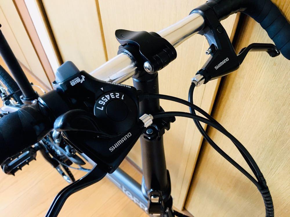 tern ターン リンク b7 カスタム自転車 折り畳み ブルホーン 美品 最終値下げ!_画像9