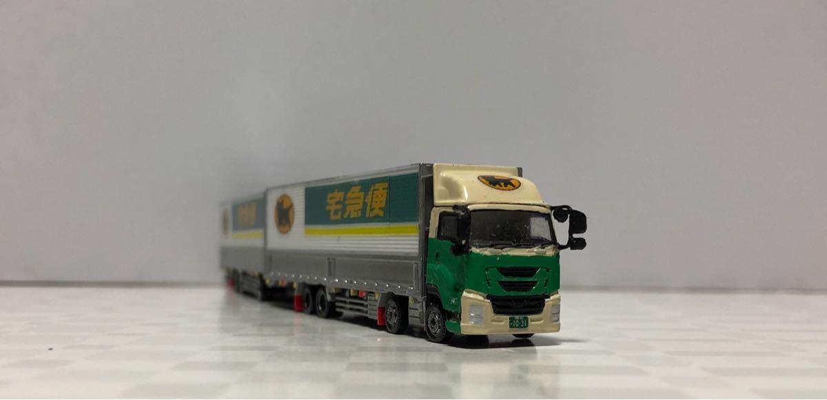 ■改造■新型ギガ ISUZU 全長25mフルトレーラー ギガショートキャブ 全国区の運送トラック_画像8