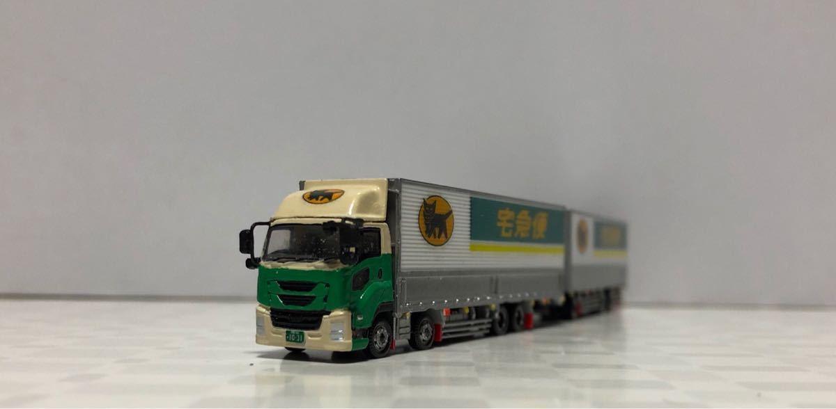 ■改造■新型ギガ ISUZU 全長25mフルトレーラー ギガショートキャブ 全国区の運送トラック