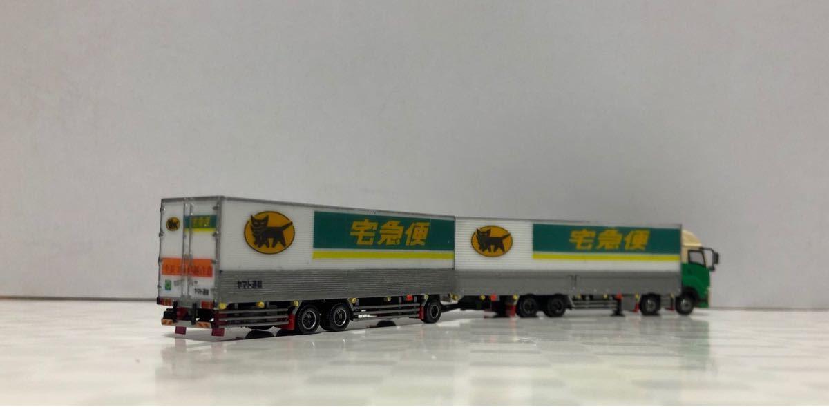 ■改造■新型ギガ ISUZU 全長25mフルトレーラー ギガショートキャブ 全国区の運送トラック_画像9