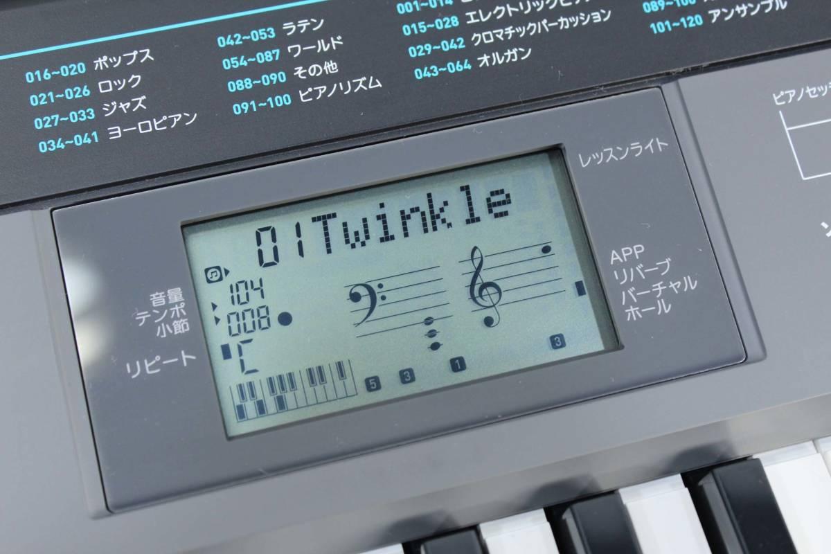 ☆カシオ☆電子キーボード☆ベーシック☆CTK-2550☆61鍵盤☆内蔵60曲☆_画像3