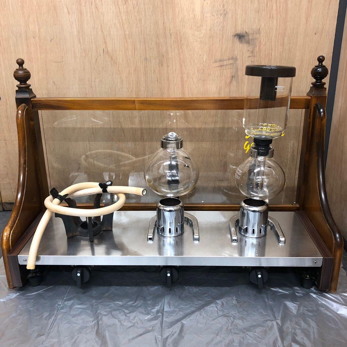 山岡金属工業 コーヒーサイフォン サイフォンガステーブル S-503SD SILKROOM
