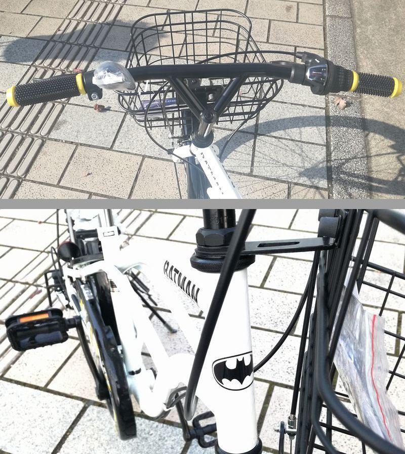 新品未使用★子供CTB自転車★22インチ 黒 BATMAN シマノ6段変速_画像4