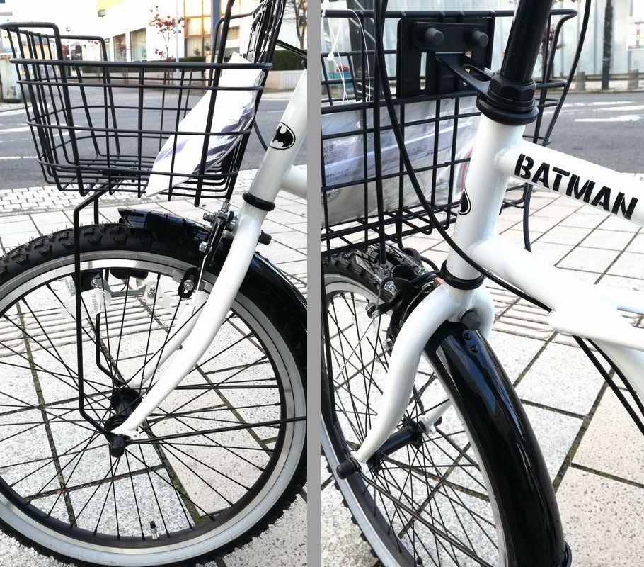 新品未使用★子供CTB自転車★22インチ 黒 BATMAN シマノ6段変速_画像6