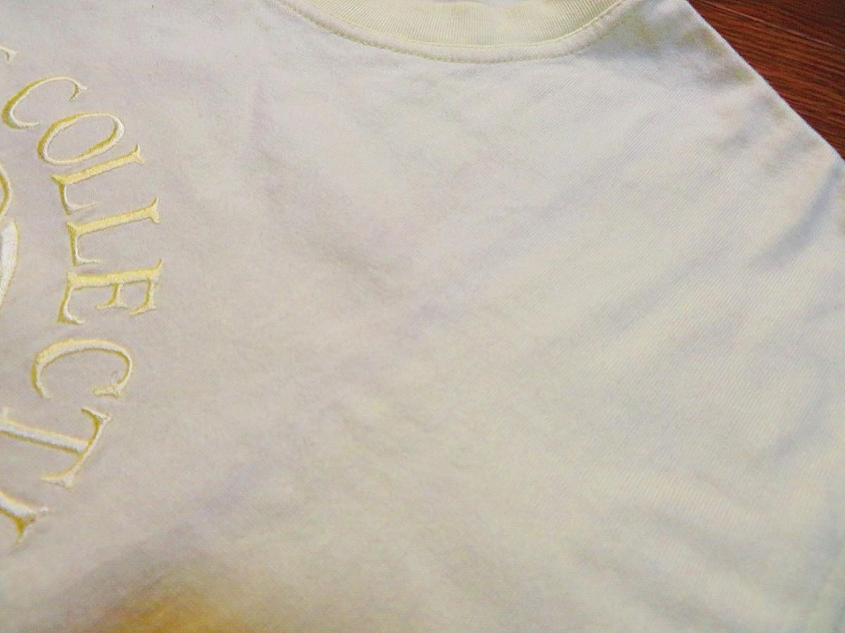 希少★一世を風靡したブランド【セーラーズSAILORS】レモンイエロー【ゆうパケットなら送料無料】半袖【Tシャツ】おニャン子クラブ.愛用★_画像10