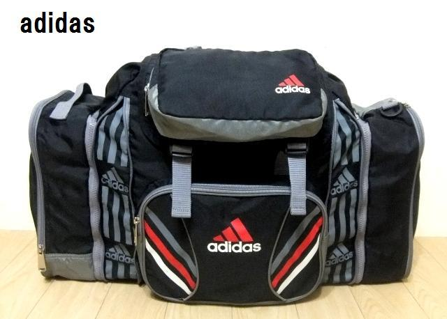 ☆【adidas】セパレート・伸縮式大型リュックサック*林間・校外学習・自然学校・合宿・キャンプ等などに☆