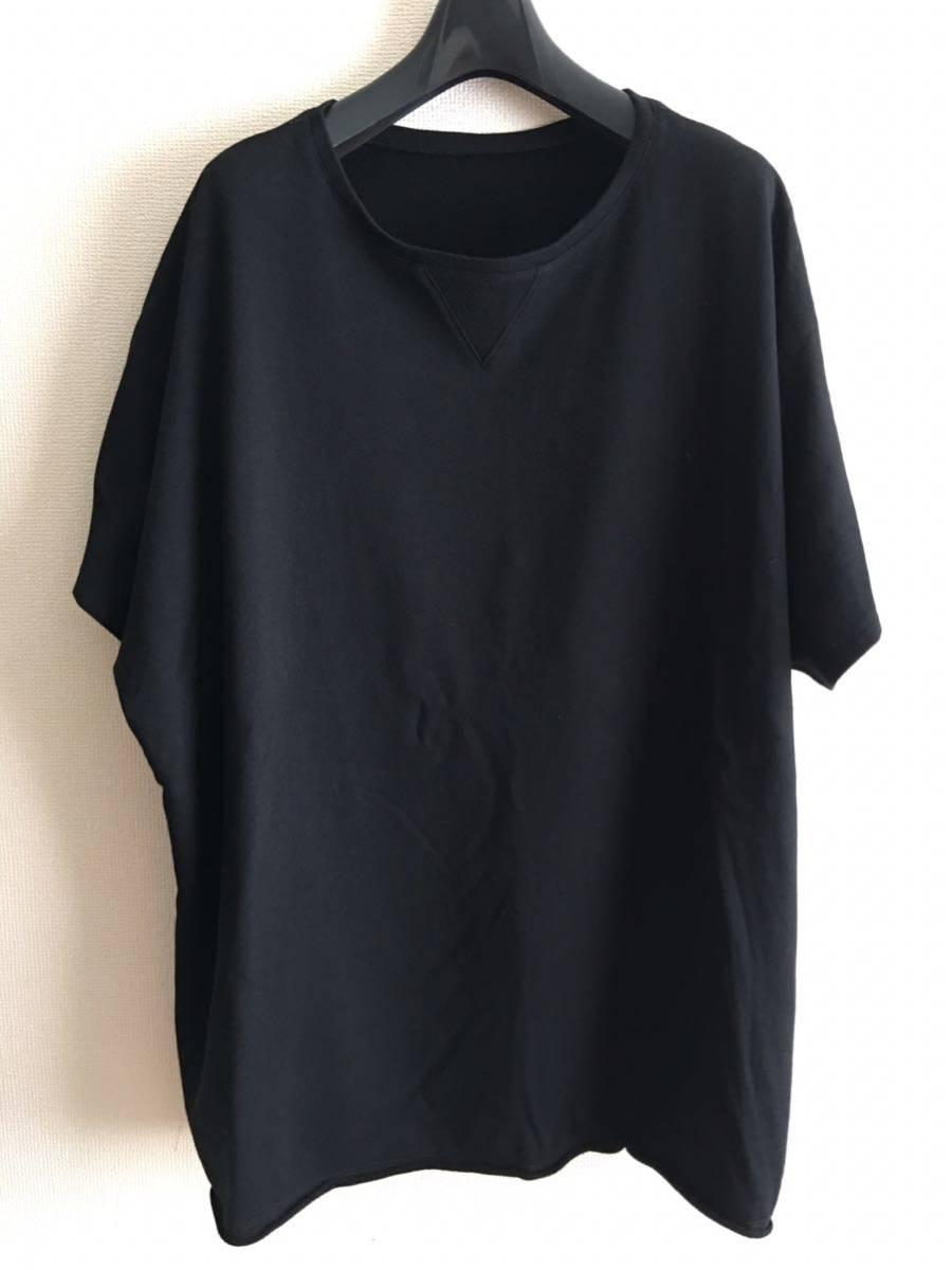 YY ◆ 2 ◆ Yohji Yamamoto Tシャツ y-3 ワイズ y'sブラック ビッグT 丸首 Pour Homme ヨウジヤマモトプールオム カットソー 半袖 17