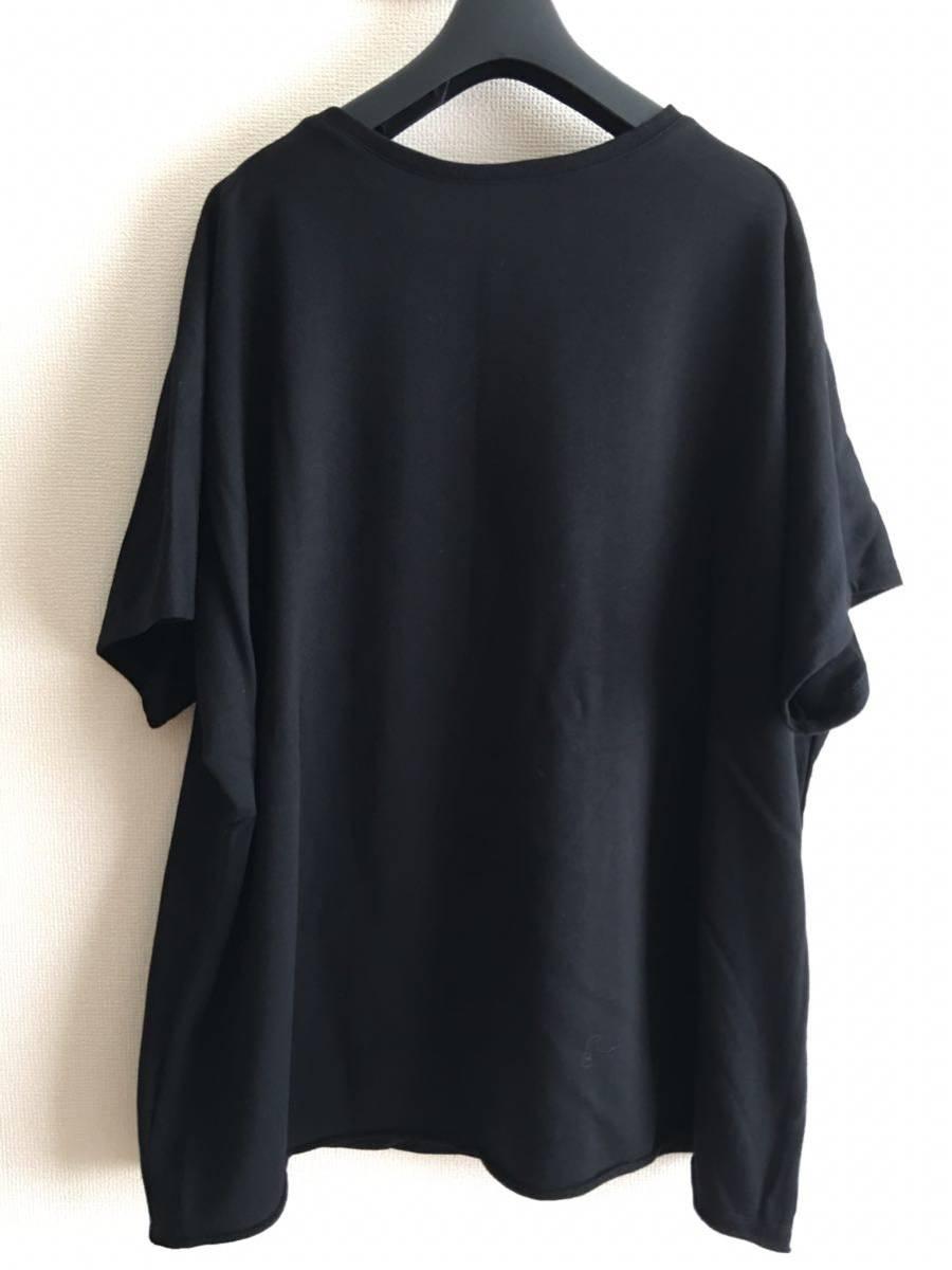 YY ◆ 2 ◆ Yohji Yamamoto Tシャツ y-3 ワイズ y'sブラック ビッグT 丸首 Pour Homme ヨウジヤマモトプールオム カットソー 半袖 17_画像9