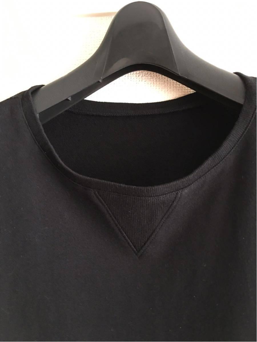 YY ◆ 2 ◆ Yohji Yamamoto Tシャツ y-3 ワイズ y'sブラック ビッグT 丸首 Pour Homme ヨウジヤマモトプールオム カットソー 半袖 17_画像2