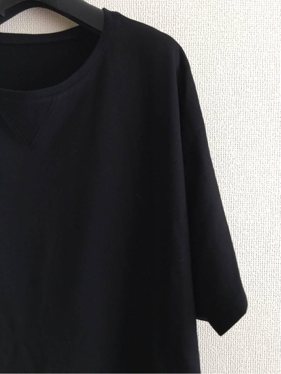 YY ◆ 2 ◆ Yohji Yamamoto Tシャツ y-3 ワイズ y'sブラック ビッグT 丸首 Pour Homme ヨウジヤマモトプールオム カットソー 半袖 17_画像3