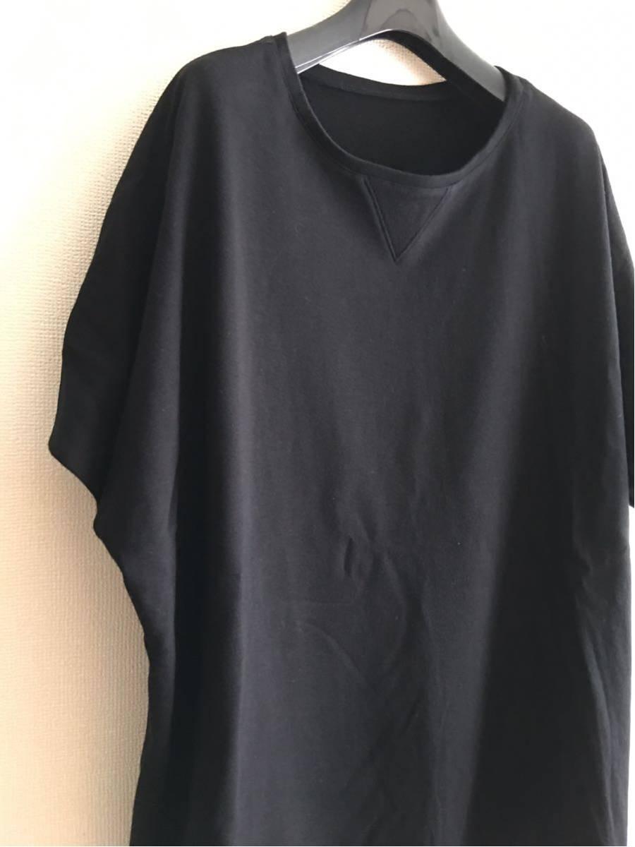 YY ◆ 2 ◆ Yohji Yamamoto Tシャツ y-3 ワイズ y'sブラック ビッグT 丸首 Pour Homme ヨウジヤマモトプールオム カットソー 半袖 17_画像6