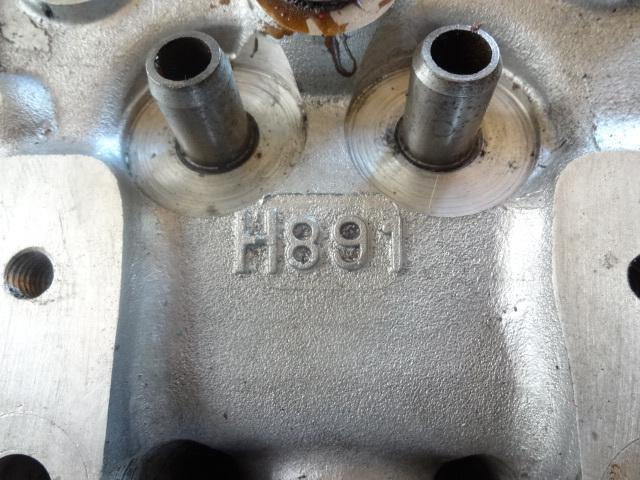 サニー  A型  シリンダーヘッド 110サニー 310サニー サニトラ GX  A12 A14 A15 楕円ポート ポート加工ヘッド_画像3