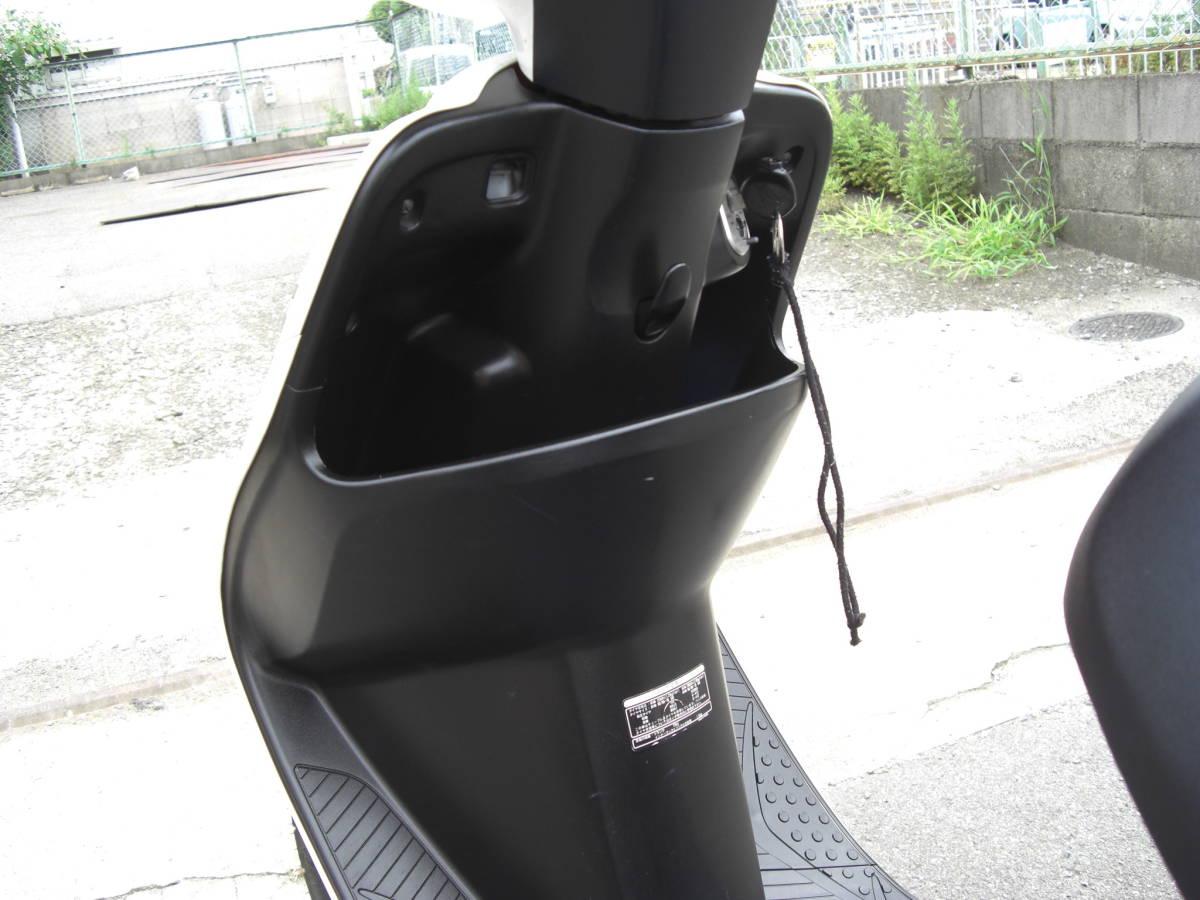 ホンダ ディオ スマート DIO Z4 FI AF63 ワンオーナー車 インジェクション パールホワイト_画像5