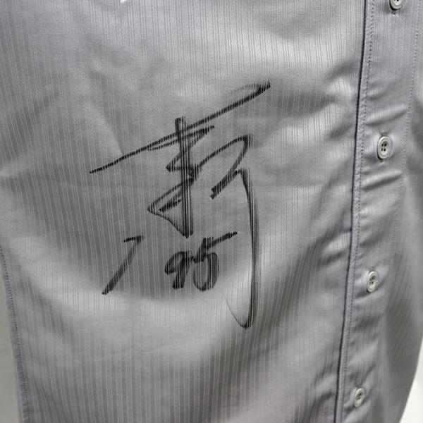 [チャリティ]福岡ソフトバンクホークス 吉鶴コーチ 関西クラッシックユニフォーム上下セット_画像4