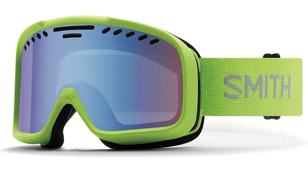 【新品】SMITH Optics PROJECT スミス 眼鏡対応 スノーゴーグル プロジェクト ブルーセンサーミラーレンズ 2019年 海外モデル限定グリーン