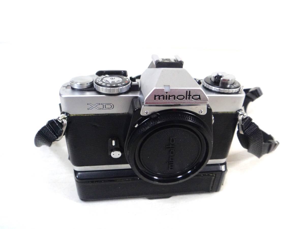 〇1820 ミノルタ フィルムカメラ XD ジャンク