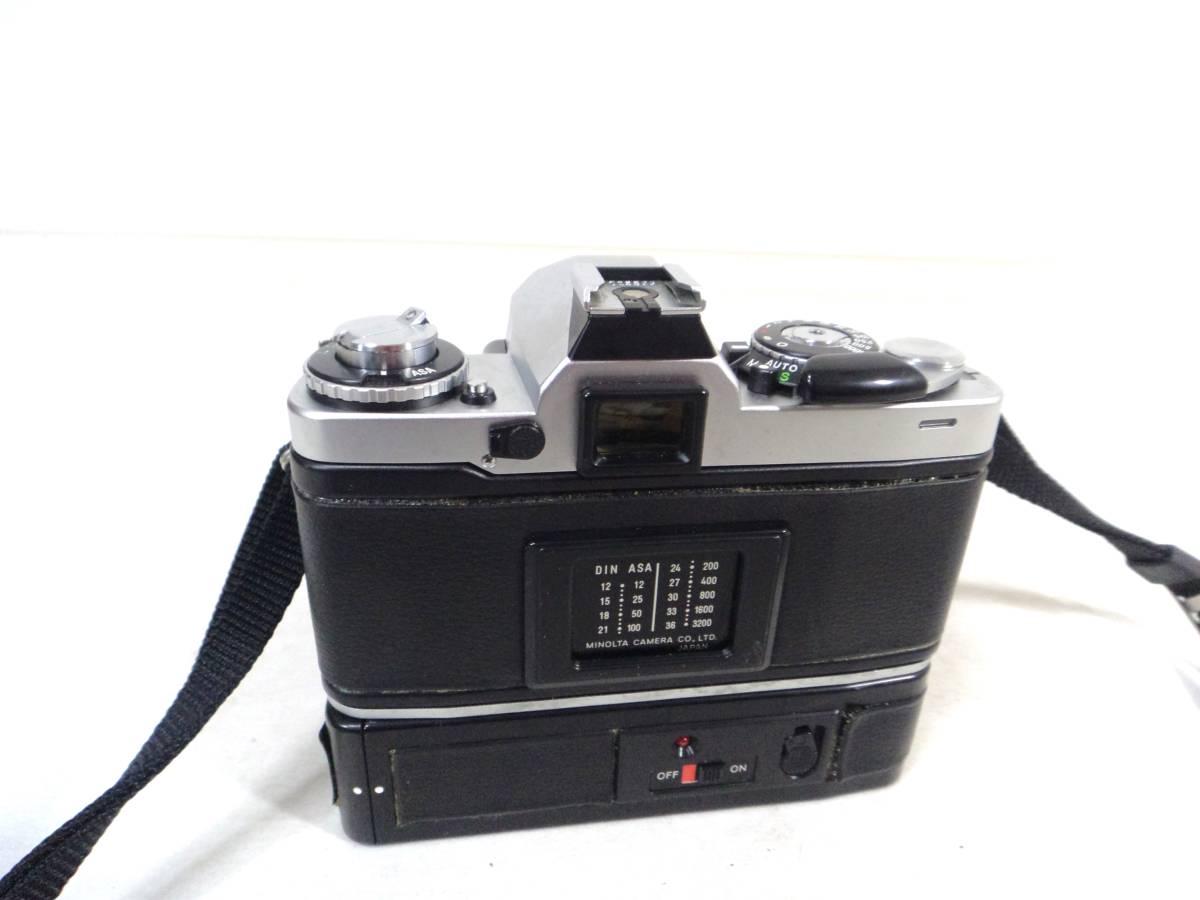 〇1820 ミノルタ フィルムカメラ XD ジャンク_画像2