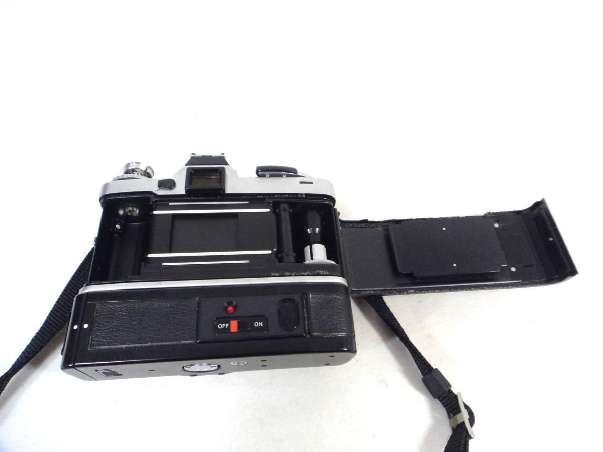 〇1820 ミノルタ フィルムカメラ XD ジャンク_画像4