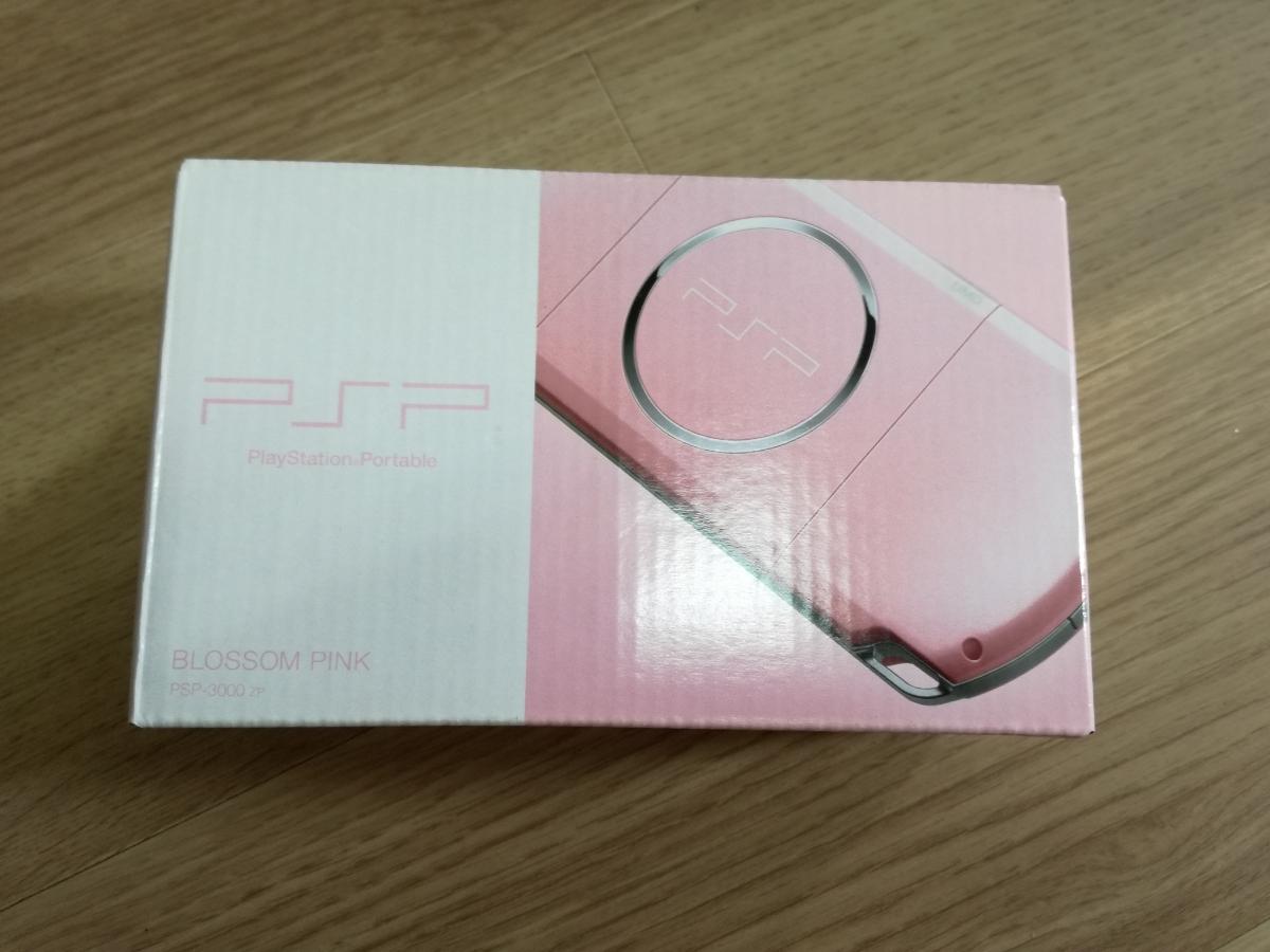【新品・未使用】PSP「プレイステーション・ポータブル」 ブロッサム・ピンク (PSP-3000ZP)