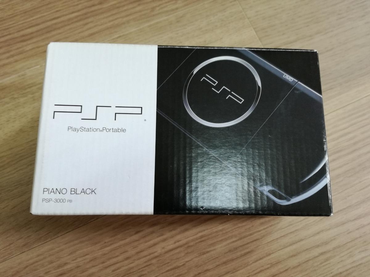 【新品・未使用】PSP「プレイステーション・ポータブル」 ピアノ・ブラックPSP-3000PB