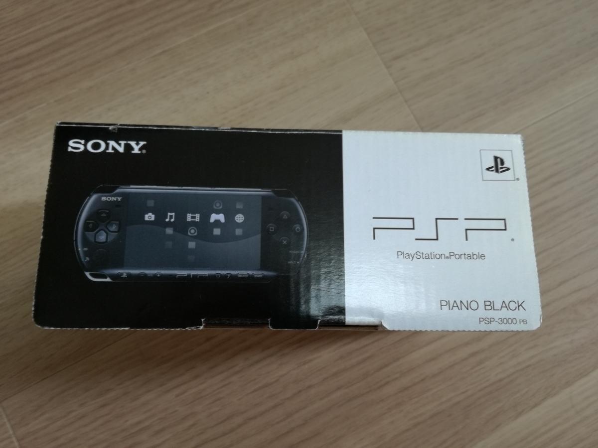 【新品・未使用】PSP「プレイステーション・ポータブル」 ピアノ・ブラックPSP-3000PB_画像2