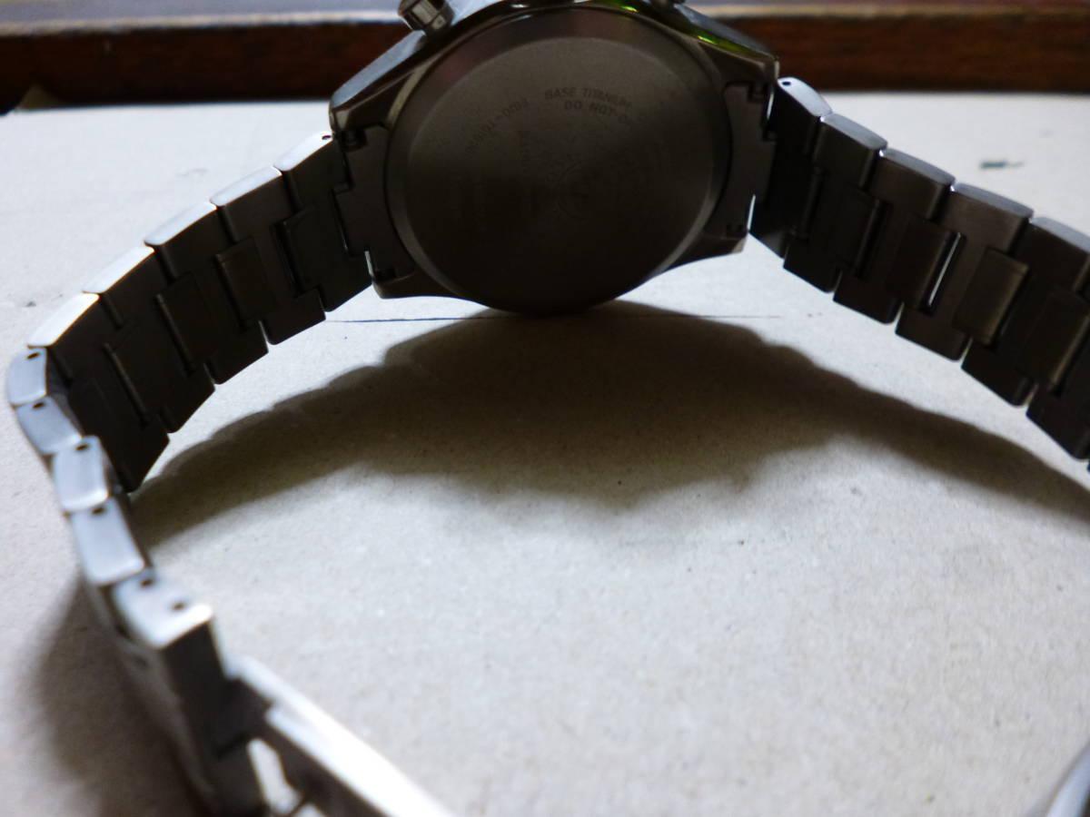 中古【難あり】シチズン エクシード 電波時計 AT3030-58B 定価10万+税_画像4