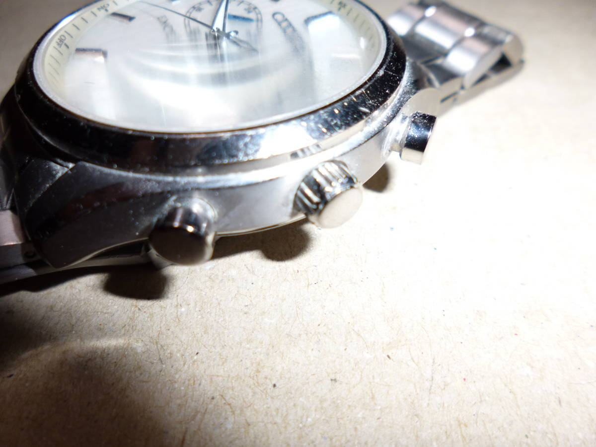 中古【難あり】シチズン エクシード 電波時計 AT3030-58B 定価10万+税_画像7