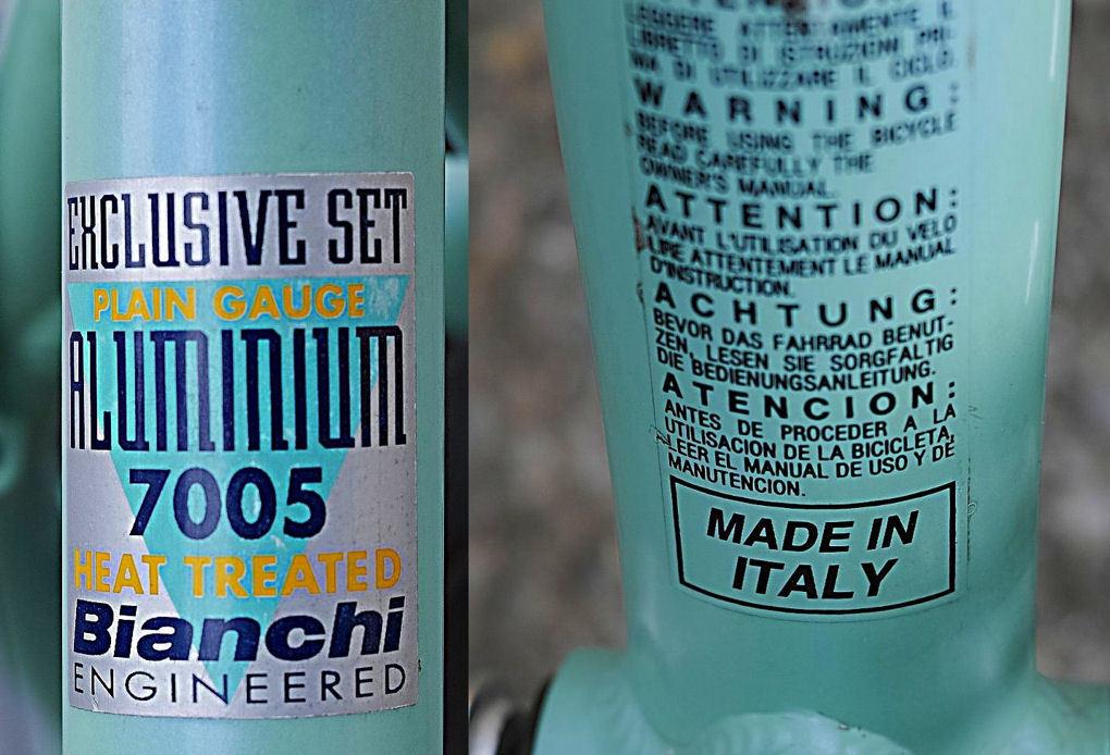 Bianchi(MADE in ITALY)ビアンキ MARTINI RACING(DEORE LX 27速)26インチ CT45 City マウンテンバイク 中古_画像8