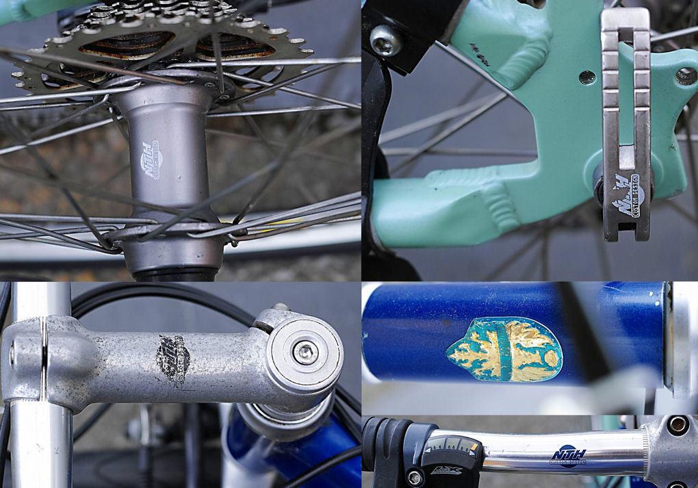 Bianchi(MADE in ITALY)ビアンキ MARTINI RACING(DEORE LX 27速)26インチ CT45 City マウンテンバイク 中古_画像5