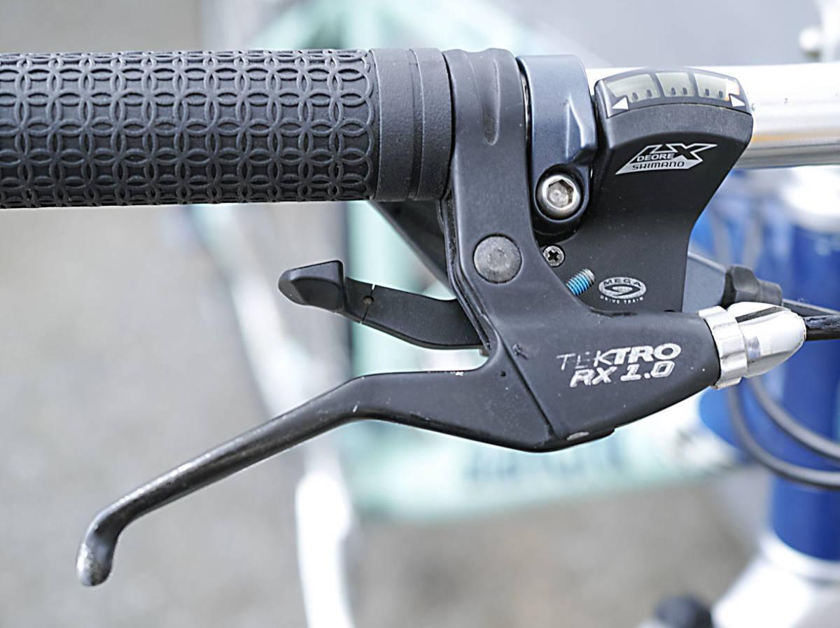 Bianchi(MADE in ITALY)ビアンキ MARTINI RACING(DEORE LX 27速)26インチ CT45 City マウンテンバイク 中古_画像6