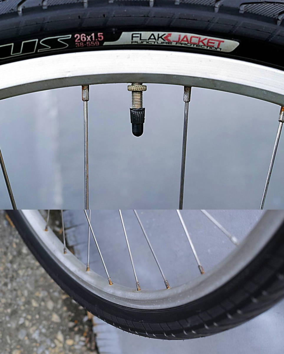 Bianchi(MADE in ITALY)ビアンキ MARTINI RACING(DEORE LX 27速)26インチ CT45 City マウンテンバイク 中古_画像10