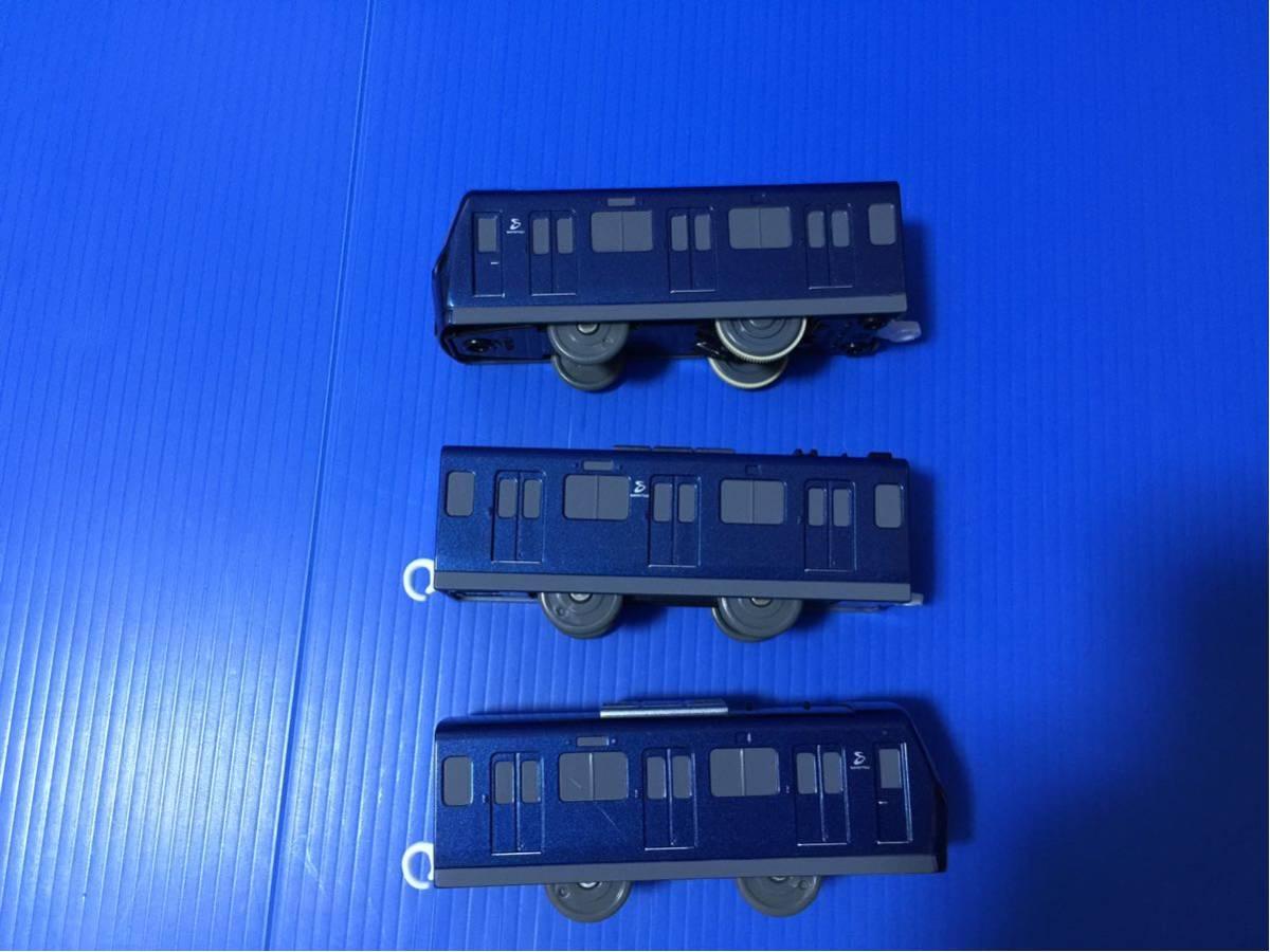 YS059B プラレール 大量 レイアウト 車両 相模鉄道 20000系 _画像4