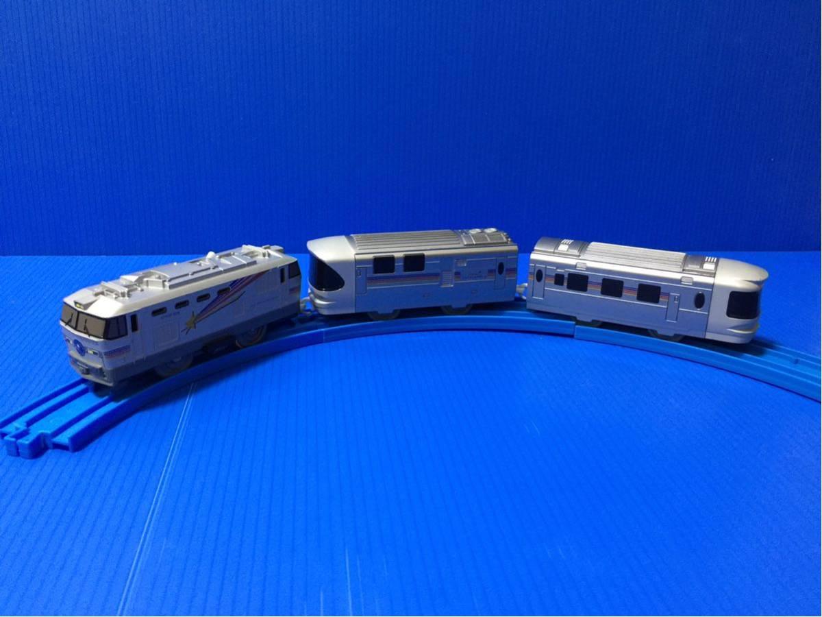 YS074B プラレール 大量 レイアウト 車両 EF510 509 カシオペア_画像2