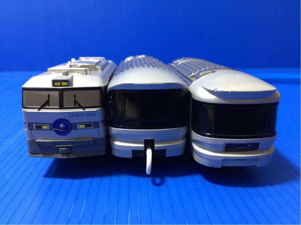 YS074B プラレール 大量 レイアウト 車両 EF510 509 カシオペア_画像3