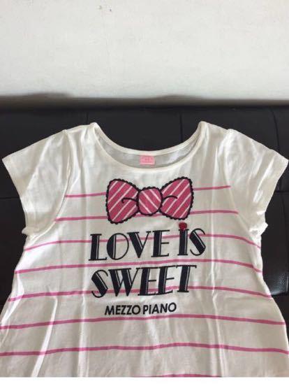 ★メゾピアノ 可愛すぎ!Tシャツ3枚セット★140_画像8
