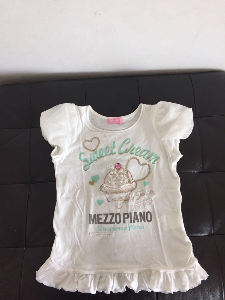 ★メゾピアノ 可愛すぎ!Tシャツ3枚セット★140_画像2
