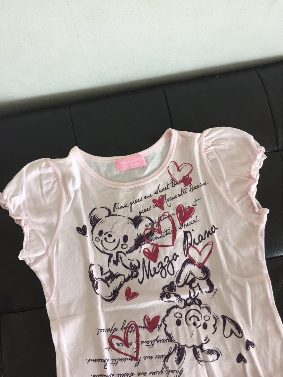 ★メゾピアノ リボン Tシャツ3枚セット★140_画像3