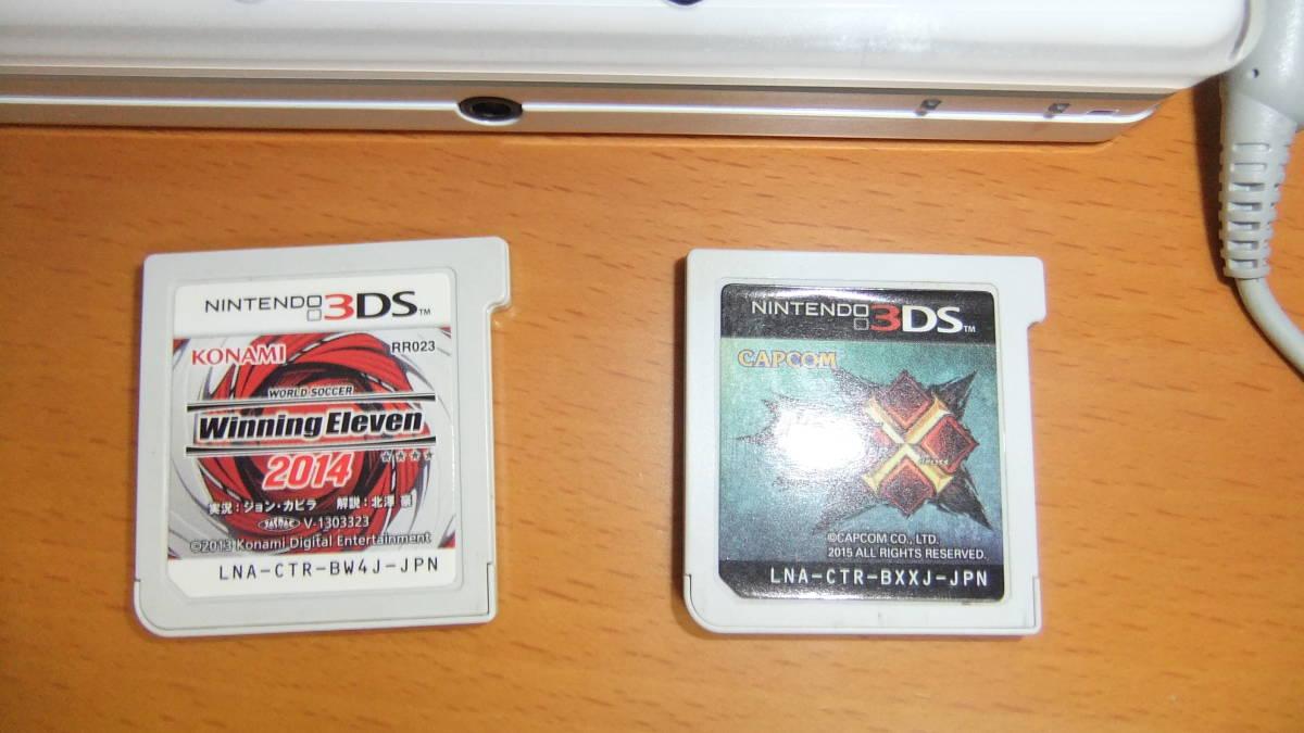 ニンテンドー Nintendo 3DS CTR-S-JPN-CO専用ACアダプタ&ソフト付き_画像2