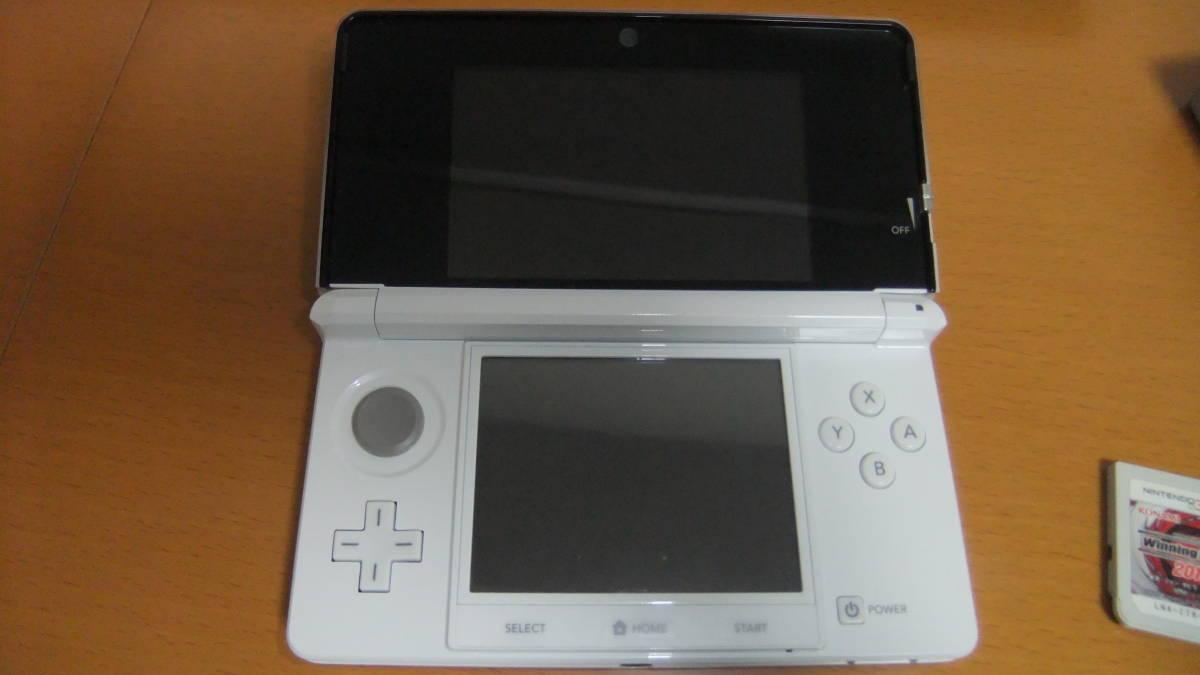 ニンテンドー Nintendo 3DS CTR-S-JPN-CO専用ACアダプタ&ソフト付き_画像4